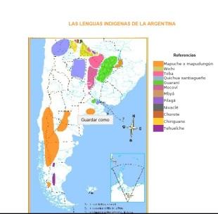 mapa de lenguas indígenas